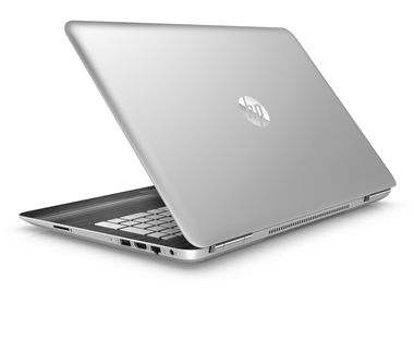 "Notebook HP Pavilion 15-bc003nc Gaming / 15.6"" FHD / i5-6300HQ 2.3GHz / 8GB / 1TB+128GB SSD / GTX 960M 4GB / Win 10 / Stříbrná"