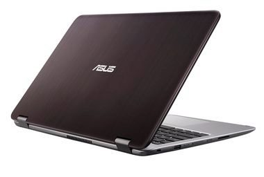 "Notebook Rozbaleno - ASUS Transformer Book Flip TP501UA-DN026T / 15.6"" Touch / Intel i5-6200U 2.3GHz/8GB/1TB/Intel HD/W10/šedá / rozbaleno"