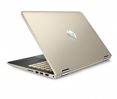 "Notebook HP Pavilion x360 13-u003nc / 13.3""FHD / Intel Core i5-6200U 2.3GHz / 8GB / 500GB+8GB SSHD / Intel HD / W10 / zlatá"