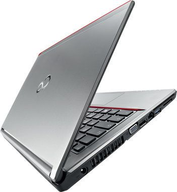 "Notebook Fujitsu LIFEBOOK E756 / 15.6"" FHD / Intel Core i7-6500U 2.5GHz / 4GB / 500GB SSHD / Intel HD / W10P+W7P / Stříbrný"