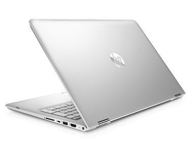 "Ultrabook HP Envy x360 15-aq004n / 15.6""FHD / Intel i7-6560U 2.2GHz / 8GB / 1TB + 128GB / Intel Iris 540 / HDMI / Win10 / stříbrná"