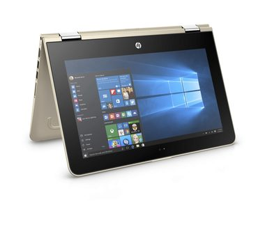 "Notebook HP Pavilion x360 11-u000nc / 11.6""HD / Intel Pentium N3710 1.6GHz / 4GB / 500GB / Intel HD 405 / W10 / zlatá"