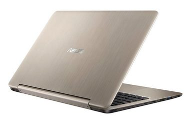 "Notebook ASUS TP201SA-FV0018T / 11.6""IPS HD / Intel Pentium N3710 1.6GHz / 4GB / 1TB / Intel HD / W10 / zlatá"