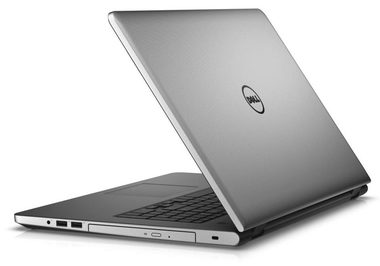 "Notebook DELL Inspiron 17 (5758) / 17.3"" HD+ / Intel Core i3-5005U / 4GB / 1TB / nVidia 920M 2GB / Win 10Pro / stříbrný / 3YNBD"
