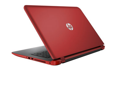 Notebook HP 17-g108nc / 17.3 HD+ / Intel Core i5-6200U 2.3GHz / 8GB / 1TB / GF 940M 2GB / DVDRW / Win 10 / červená