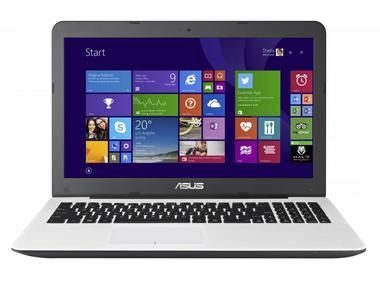 Notebook ROZBALENO - ASUS F555LB-DM076H / 15.6 FHD / Intel Core i7-5500U 2.4GHz / 1000GB / 8GB RAM / GeForce 940M / Win8.1 / bílá / rozbaleno