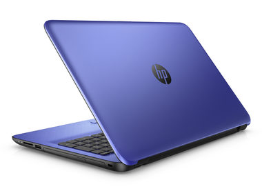 "Notebook HP 15-af104nc / 15.6""HD / AMD A8-7410 2.2GHz / 8GB / 1TB / AMD Radeon R5 M330 2GB / DVDRW / W10 / modrá"