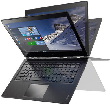 "Notebook Lenovo Yoga 900-13ISK2 / 13.3"" QHD+ / Intel Core i5-6260U 1.8GHz / 8GB / 256GB SSD / Intel HD / W10 / Stříbrný"