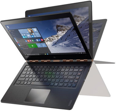 "Notebook Lenovo Yoga 900-13ISK2 / 13.3"" QHD+ / Intel Core i7-6560U 2.2GHz / 8GB / 512GB SSD / Intel HD / W10 / Zlatý"