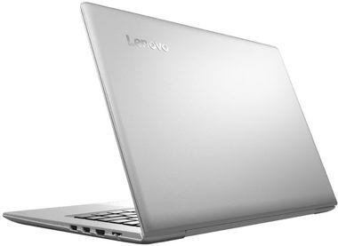 "Notebook Lenovo IdeaPad 510S / 14"" FHD / Intel Core i5-6200U / 4GB / 128GB SSD / Intel HD / W10 / Stříbrný"