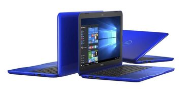 "Notebook DELL Inspiron 11 (3162) / 11.6"" / Intel Pentium N3700 1.6GHz / 4GB / 500GB / Intel HD / W10 / modrý / 2YNBD"