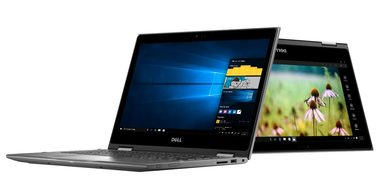 "Notebook DELL Inspiron 13z (5368) / 13.3"" FHD Touch / Intel Core i3-6100U / 4GB / 500GB / BT / Win 10 / šedý / 2YNBD"