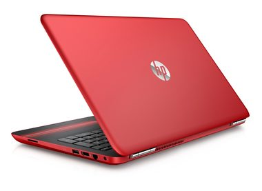 "Notebook HP 15-au007nc / 15.6"" / Intel Core i3-6100U / 8GB / SSD 256GB / Nvidia GeForce 940M 2GB / HDMI / W10 Home / červená"