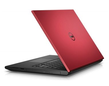"Notebook DELL Inspiron 15 (3543) / 15.6"" HD / i5-5200U 2.2GHz / 4GB / 500GB / 820M 2GB / DVDRW / Win10 / červený / 2YNBD"