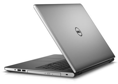 "Notebook DELL Inspiron 17 (5759) / 17.3"" FHD / Intel Core i7-6500U 2.5GHz / 8GB / 1TB / R5 M335 4GB / W10 / stříbrný / 2YNBD"