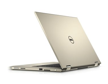 "Notebook DELL Inspiron 13z (7359) / 13.3"" FHD Touch / Intel Core i5-6200U / 8GB / 500GB+8GB SSHD / BT / Win 10 / zlatý / 2YNBD"