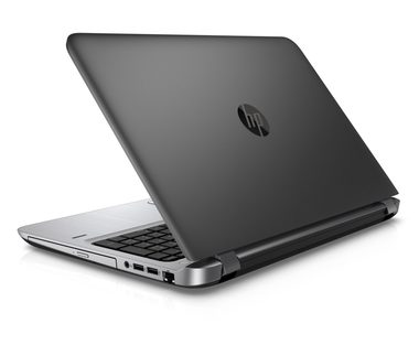"Notebook HP ProBook 450 G3 / 15.6""FHD / i3-6100U 2.3GHz / 4GB / 256GB SSD / Intel HD 520 / DVDRW / FpR / Win10P downgraded / šedá"