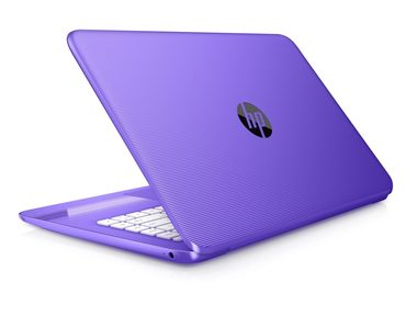 "Notebook HP Stream 14-ax002nc / 14"" HD / Intel Celeron N3060 1.6GHz / 4GB / 32GB SSD / Intel HD / Win 10 / fialová"