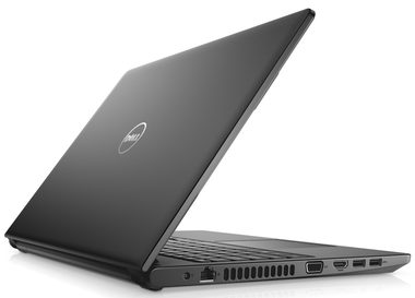 "Notebook DELL Vostro 3568 / 15.6"" HD / i5-7200U 2.5GHz / 4GB / 1TB / DVDRW / Intel HD 620 / Win 10Pro / černá / 3YNBD"