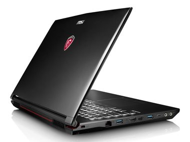 "MSI GP62 7RD Leopard / 15.6"" FHD / i7-7700HQ 2.8GHz / 8GB / 128GB SSD + 1TB / GeForce GTX 1050 2GB / Win10 Home"