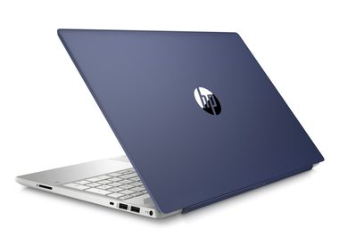 "Notebook HP Pavilion 15-cs0014nc modrá / 15.6"" / Intel i3-8130U 2.2GHz / 8GB / 128GB SSD + 1TB / Intel UHD 620 / W10"