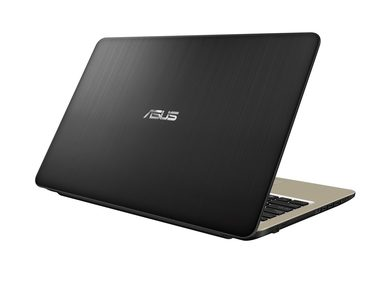 "Notebook ASUS VivoBook X540UA-GQ010 černá / 15.6"" HD / Intel Core i3-6006U 2GHz / 4GB / 1TB / Intel HD 520 / DVD / Linux"