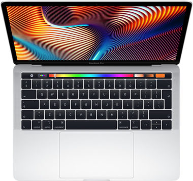 "Ultrabook Apple MacBook Pro 13"" 2019 Silver / Core i5 2.4GHz / 8GB / 256GB SSD / Intel Iris 655 / macOS Mojave / Touch Bar / CZ"