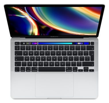 "Ultrabook Apple MacBook Pro 13"" 2020 Silver / Core i5 2GHz / 16GB / 1TB SSD / Intel Iris Plus / OS Catalina / Touch Bar / CZ"