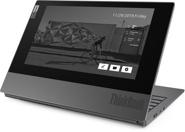"Notebook Lenovo ThinkBook Plus šedá / 13.3"" FHD / Intel Core i7-10710U 1.1GHz / 16GB / 512GB SSD / Intel UHD Graphics / W10P"