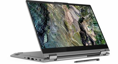 "Notebook Lenovo ThinkBook 14s Yoga ITL šedá / 14"" FHD T / Intel Core i7-1165G7 2.8GHz / 16GB / 512GB SSD / Intel Iris Xe / W10P"