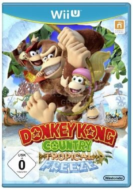 WiiU Donkey Kong Country: Tropical Freeze / Adventura / Angličtina / od 3 let / Hra pro Nintendo Wii U