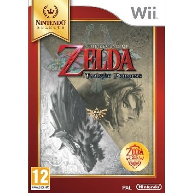 Wii The Legend of Zelda: Twilight Princess Select / Adventura / Angličtina / od 12 let / Hra pro Nintendo Wii