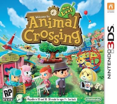 3DS Animal Crossing: New Leaf / Adventura / Angličtina / od 3 let / Hra pro Nintendo 3DS