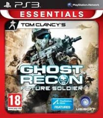 PS3 TC Ghost Recon Future Soldier Essentials / Akční / Angličtina / od 18 let / Hra pro Playstation 3