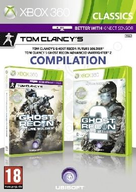 X360 Ghost Recon Future Soldier & Ghost Recon Warfighter 2 Pack / Akční / Angličtina / od 18 let / Hra pro Xbox 360