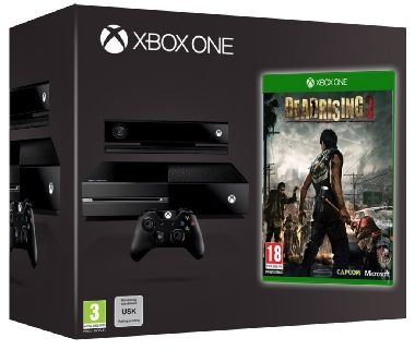 Microsoft XBOX ONE 500GB + Kinect + Dead Rising 3