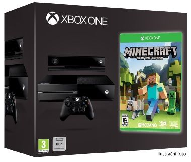 Microsoft XBOX ONE 500GB + Kinect + Minecraft