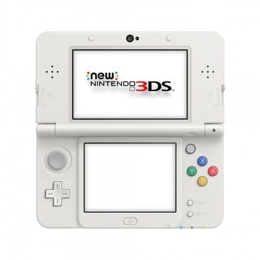 New Nintendo 3DS White  / konzole / bílá