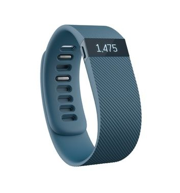Fitness náramek Fitbit Charge velikost L / Fitness / Android / iOS / modro-šedá