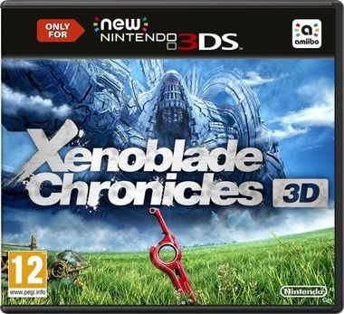 New 3DS Xenoblade Chronicles 3D / RPG / Angličtina / od 12 let / Hra pro New Nintendo 3DS