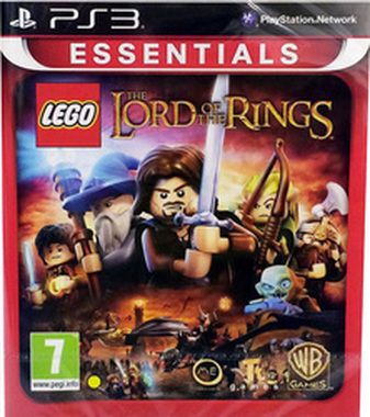 PS3 LEGO The Lord of the Rings Essential / Dětská / Angličtina / od 7 let / Hra pro Playstation 3