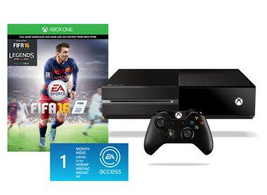 Microsoft XBOX ONE 500GB + FIFA 16 + 1M EA Access