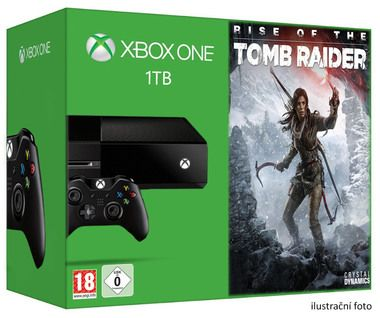 Microsoft XBOX ONE 1TB + Rise of the Tomb Raider