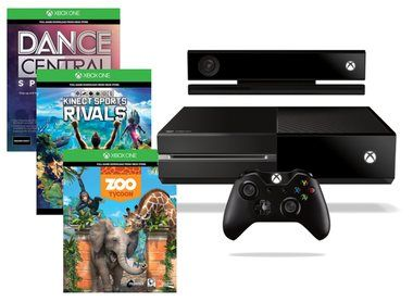 Microsoft XBOX ONE 500GB + Kinect + Dance central + KSR + Zoo Tycoon