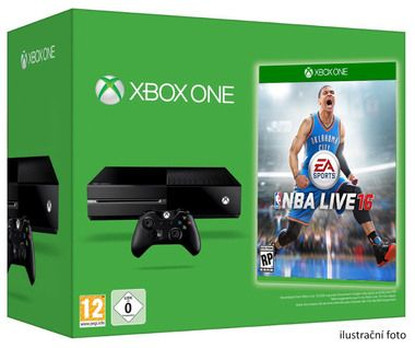 Microsoft XBOX ONE 500GB + NBA Live 16