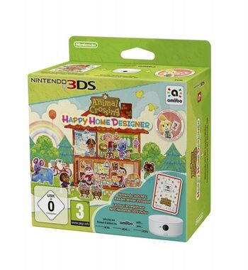 3DS Animal Crossing: Happy Home Designer + Card + NFC / Simulátor / Angličtina / od 3 let / Hra pro Nintendo 3DS
