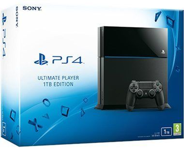 SONY PlayStation 4 - 1TB Black CUH-1216B / černý