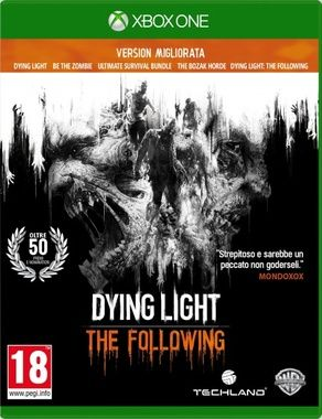 XONE Dying Light: The Following - Enhanced Edition / Akční / Angličtina / od 18 let / Hra pro Xbox One