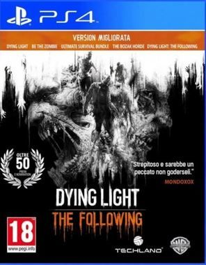 PS4 Dying Light: The Following - Enhanced Edition / Akční / Angličtina / od 18 let / Hra pro Playstation 4