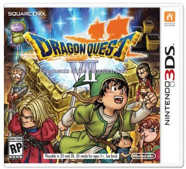 3DS Dragon Quest VII: Fragments of the Forgotten Past / RPG / Angličtina / od 12 let / Hra pro Nintendo 3DS